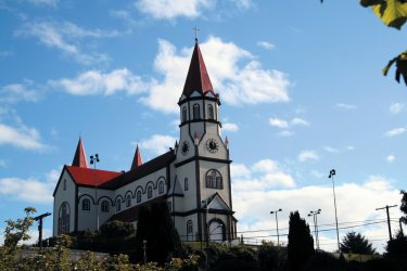 Eglise de Puerto Varas (© Arnaud BONNEFOY)