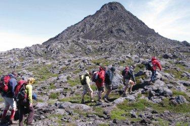 Ascension sur l'île de Pico.