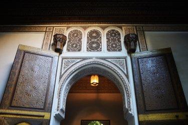 A l'entrée du Palais de la Bahia. (© Alex7370 - Shutterstock.com)