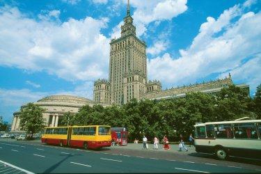 Pologne : Palais des Sciences et de la Culture (Sala Congres