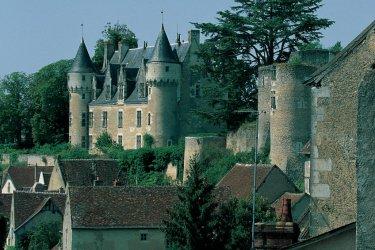 Le château de Montrésor, intacte depuis 150 ans. (© MARC JAUNEAUD - ICONOTEC)