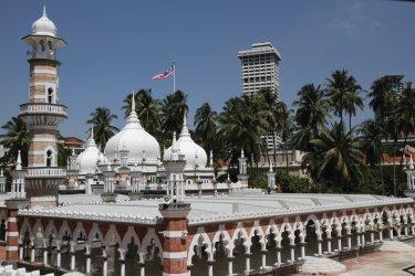 MALAISIE : Mosquée Masjid Jamek