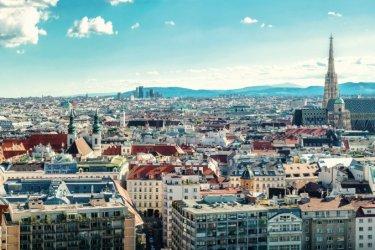 Vienne : Panorama sur la ville de Vienne.