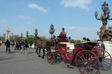 Pont Alexandre III. (© PARIS CALÈCHES)