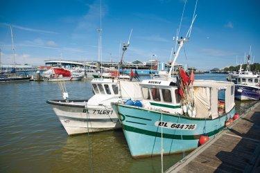 La flottille de pêche artisanale (© Olivier LECLERCQ)