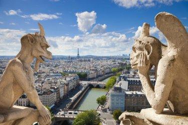 Les gargouilles de Notre-Dame surplombent Paris. (© Jose Ignacio SOTO - Fotolia)