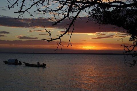 Coucher de soleil sur Pemba. (© Elisa Vallon)