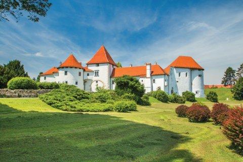 Le château de Varaždin dans la vieille ville. (© iascic)