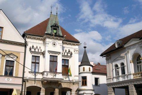 Hôtel de ville sur la place de Marie. (© iStockphoto.com/sneska)