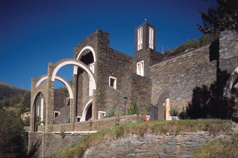 Sanctuaire de Meritxell (© Ministère du Tourisme du Gouvernement d'Andorre)