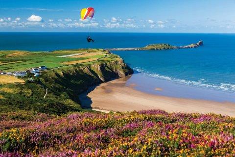 Rhossili Bay au Pays de Galles. (© Billy Stock/4Corners/Sime/Photononstop)