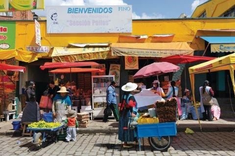Ville de La Paz. (© Patrice ALCARAS)
