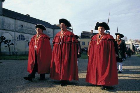 Célébration de la fête de la Saint-Vincent à Champlitte (© ICONOTEC.COM)