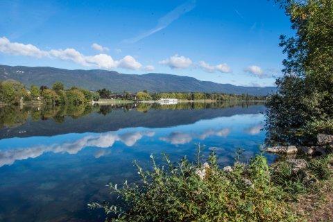 Le lac de Divonne. (© Anatoli Laptev - Shutterstock.com)