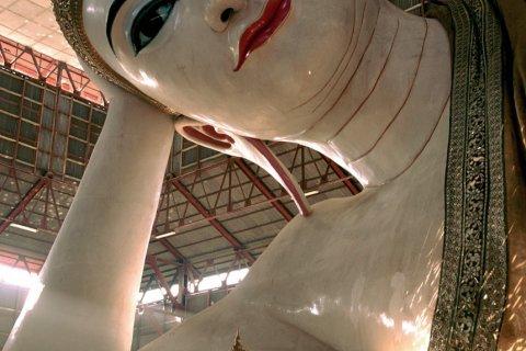 Bouddha couché de la pagode Chaukhtatgyi. (© Author's Image)