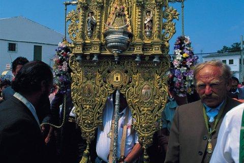 Le pèlerinage d'El Rocío est le plus important pèlerinage d'Espagne. (© Author's Image)