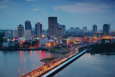 La ville de Johor Bahru. (© kokkai)