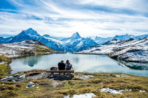Randonnée dans les environs de Grindelwald. (© Boris-B - Shutterstock.com)