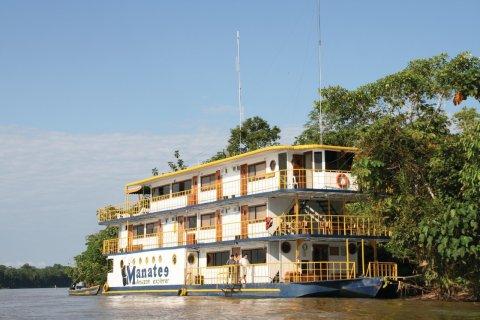 Le Manatee Amazone Explorer permet de faire plusieurs étapes sur le Río Napo. (© Stéphan SZEREMETA)