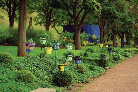 Le jardin pour la paix de Bitche (© Maxime THIEL - Fotolia)