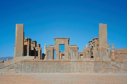 Ruines de Persépolis. (© Petra KohlstÑdt)