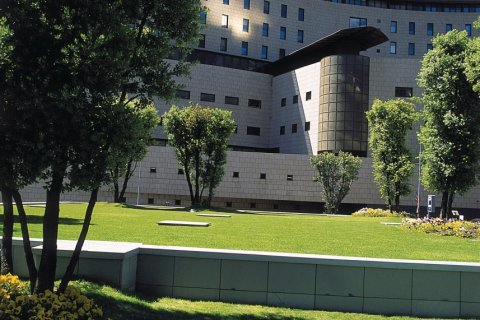 Hôpital de Meritxell (© Ministère du Tourisme du Gouvernement d'Andorre)