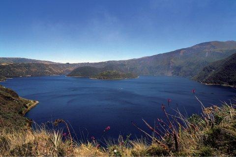 Lac de Cuicocha. (© Author's Image)