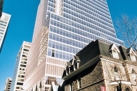 Centre-ville de Montréal. (© Stéphan SZEREMETA)