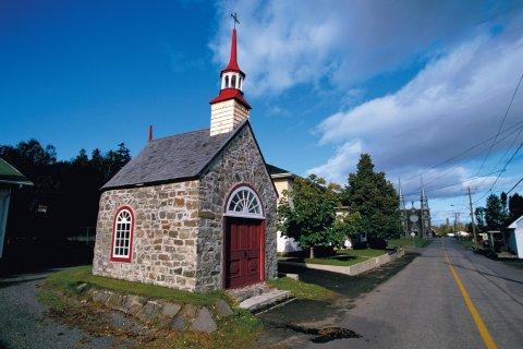 Chapelle de procession Saint-Pierre, Isle-aux-Coudres. (© Author's Image)