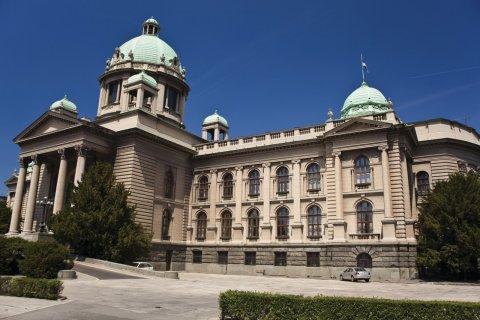 Assemblée nationale de Serbie. (© Adam RADOSAVIJEVIC - Fotolia)