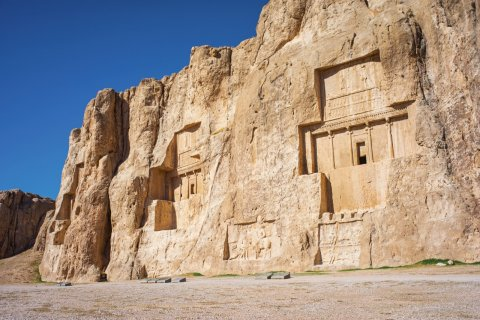 Tombeau de Darius, Naqsh-e Rostam. (© Knet2d - iStockphoto)
