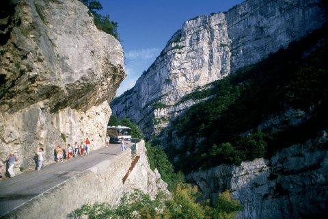 Gorge de la Vernaison vers Romans-sur-Isère (© PHOVOIR)