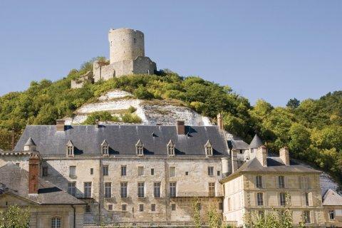 Le château de La Roche-Guyon (© Philophoto - Fotolia)
