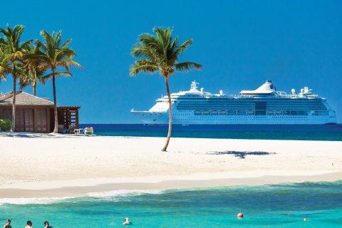 Plage de l'Atlantis Resort sur Paradise island. (© Pietro Canali)