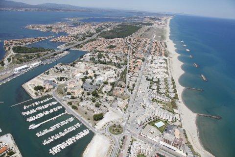 Vue aérienne du Port Barcarès. (© Mairie de Barcarès)