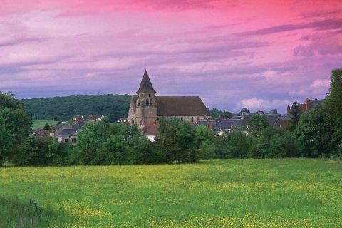 Vue du village de Prémery (© VALÉRY D'AMBOISE)