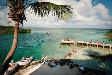 Caye Caulker forest reserve. (© Belize Tourism Board)