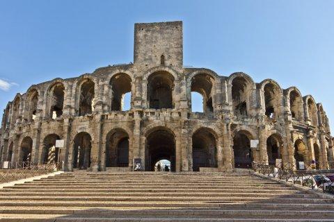 Les arènes d'Arles. (© Roe - Fotolia)