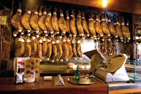 Bar à tapas de Salamanque. (© Author's Image)