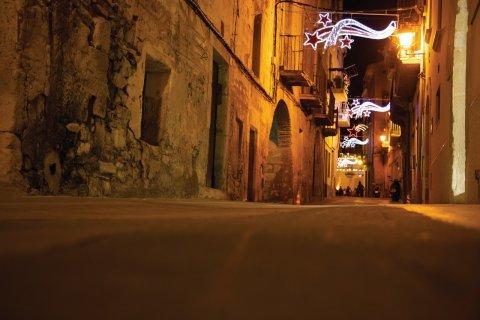 Carrer Poble. (© Patronat Turisme Diputació Tarragona - Terres de l'Ebre)