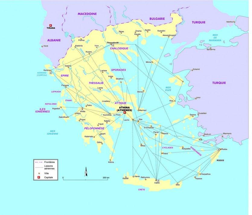 bateau iles grecques