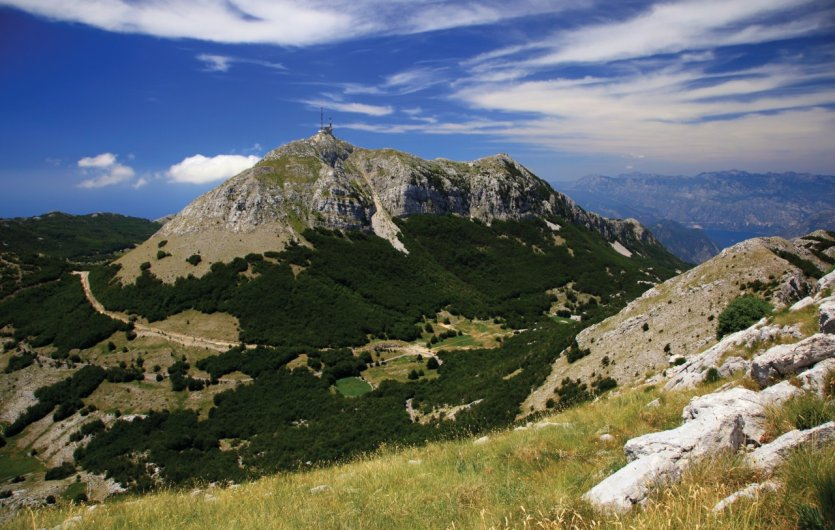 Parc national du Lovćen.