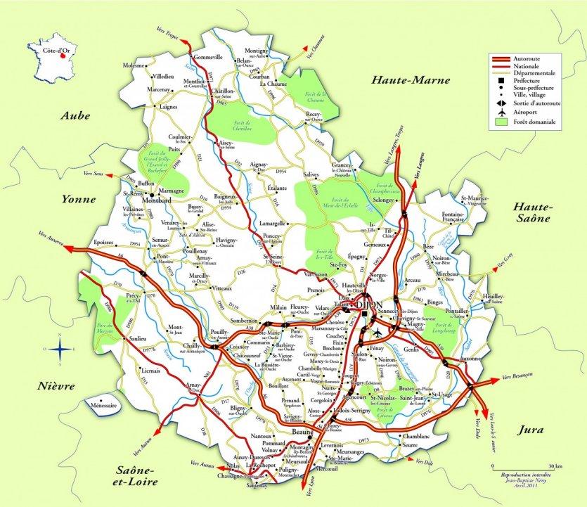 Bourgogne Guide Touristique De Petit Fut