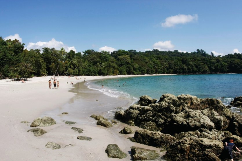 Plage du parc national Manuel Antonio.