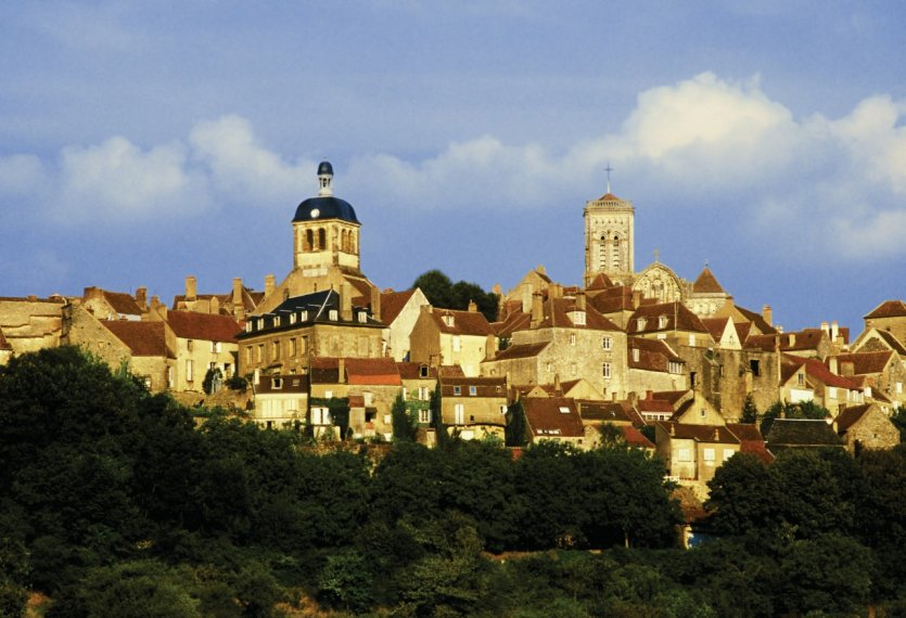 Village du Vézelay.