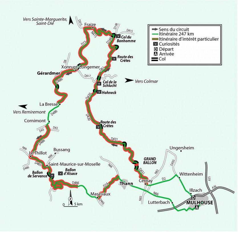 Exceptionnel Le guide thématique Petit Futé FRANCE À MOTO : La route des Crètes NI31