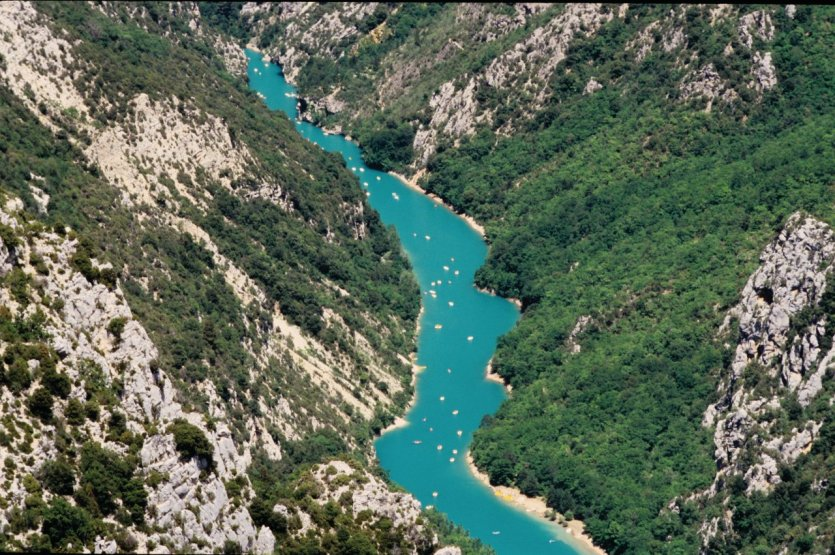Le Grand Canyon - Gorges du Verdon
