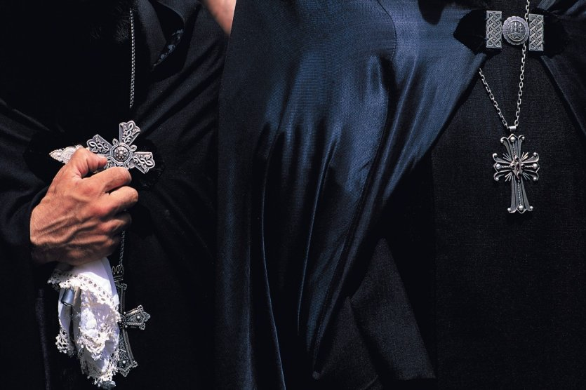 Prêtres arméniens.