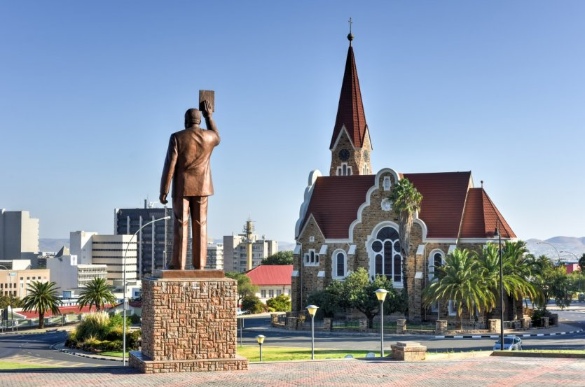 Eglise de Windhoek.