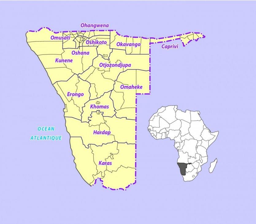 Namibie : Guide de voyage Namibie - m